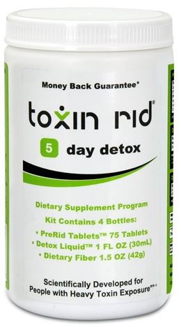 5 Day Detox TOXIN RID Review