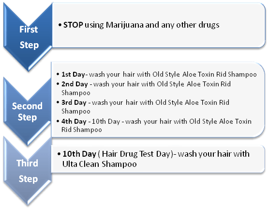 Aloe Toxin Rid Tresatment method instructions: