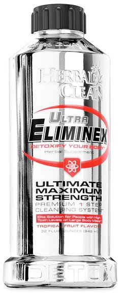 Herbal Clean Ultra Eliminex Drink Review