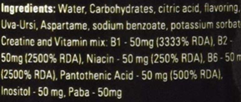 Ultimate Gold Detox Ingredients