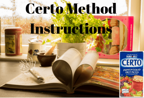 Certo Method Instructions