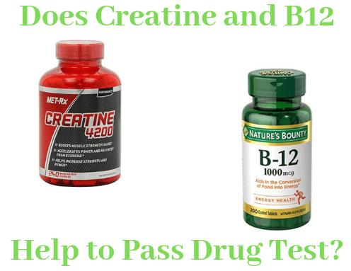 Do Creatine and B12 Help to Pass Drug Test?
